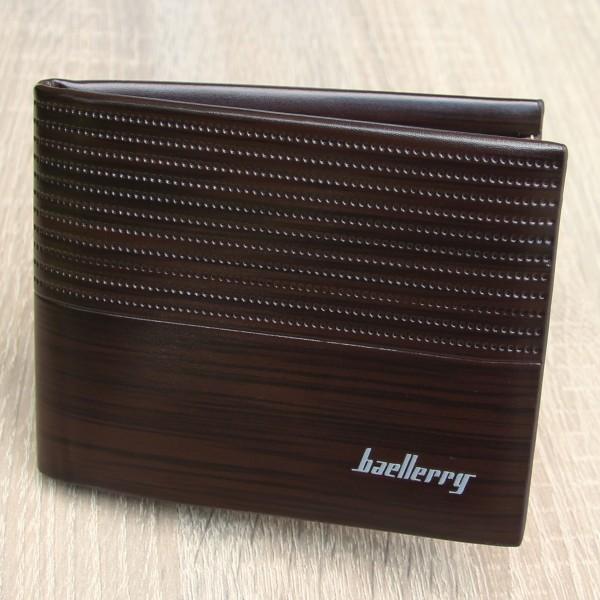 Hochwertiges Portemonnaie Herren Geldbörse Brieftasche von Baellerry